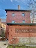Image for Owens-Corning Corporation Fiberglas ghost sign - Ashton Mill - Cumberland, Rhode Island
