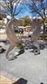 Image for Sea horses with Love Padlocks at Timmendorfer Strand/ Schleswig-Holstein/ Deutschland