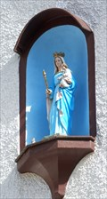 Image for Virgin Mary with infant Jesus at Mühlenstraße 3, Monreal - RLP / Germany