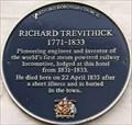 Image for Richard Trevithick - High Street, Dartford, Kent, UK