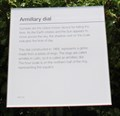 Image for Armillary Dial -- Royal Observatory, Greenwich, London, UK