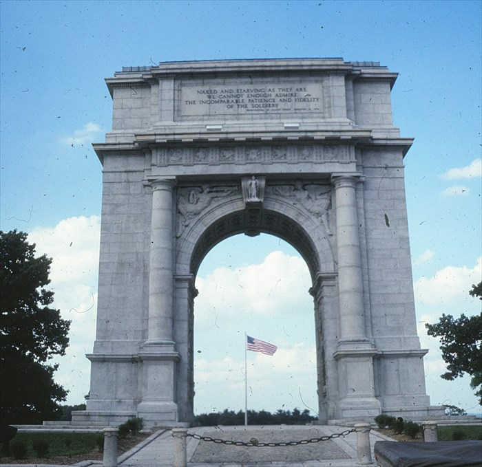 George Washington The National Memorial Arch Valley Forge National Historical Park King Of