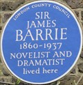 Image for Sir James Barrie - Bayswater Road, London, UK