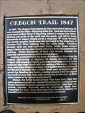 Image for Oregon Trail 1847 - Border, WY