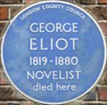Image for George Eliot - Cheyne Walk, London, UK