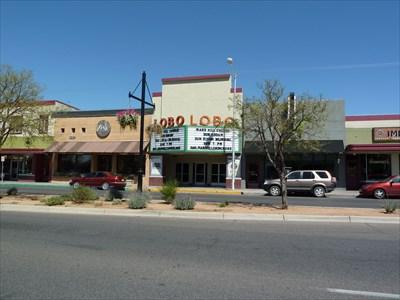 lobo theater albuquerque new mexico vintage movie