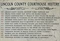 Image for Lincoln County Courthouse - 1883-1996 - Davenport, WA