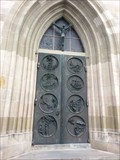 Image for Door @ Stadtkirche St. Dionys - Esslingen, Germany, BW