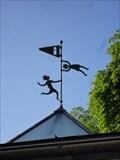 Image for Dancing in the wind - Weathervane Infopavillon Reutlingen, Germany, BW