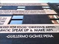 """Image for """"Ode To Censorship"""" mural - Aaron Peterman and Guillermo Gómez Peña - Providence, Rhode Island"""