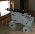Image for Fort King George Blockhouse Guns - Darien, GA