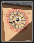 Image for Clock of the Post Office (Dompost) at Domplatz - Regensburg, Germany