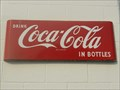 Image for Gulf Oak Service Station Coca Cola Sign - Quincy, FL