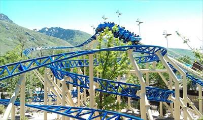 Bombora Lagoon Amusement Park Farmington Utah Roller Coasters