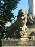 Image for Lion on the Huss Memorial - Spálené Porící, CZ