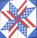 Image for Bars & Stars - Barn Quilt - Clinton, Michigan, USA.