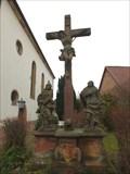 Image for Kreuzigungsgruppe und Missionskreuz, Weinstraße, bei Nr. 24a, Hainfeld - RLP / Germany