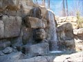 Image for Claires Falls - Henry Doorly zoo waterfall - Omaha Nebraska