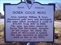Image for DORN GOLD MINE & DORN'S MILL