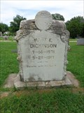 Image for Dickinson - Green Hill Cemetery - Davis, OK