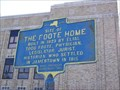 Image for Site of the Foote Home - Jamestown, New York