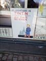 Image for Tintin at Posterland, Gothersgade, København - Denmark
