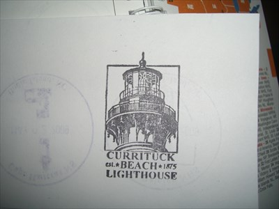 Currituck Beach Lighthouse - Corolla, NC - Lighthouse Passport Stamps on Waymarking.com