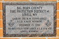 Image for 2001 - Big Horn Rural Fire Protection District No 1 - Lovell, WY