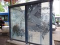 Image for Etched Glass Bus stop - Forest Grove, OR