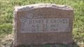 Image for 101 - Henry E. Groves - Kolb Cemetery - Spencer, OK