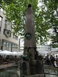 Image for Obelisk Postplatzbrunnen Stuttgart, Germany, BW