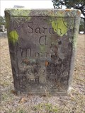 Image for Sarah A. Morris - Perryman Cemetery - Forestburg, TX