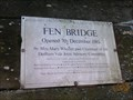 Image for Fen Bridge - 1985 - East Bergholt, Suffolk