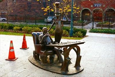 Dr Seuss National Memorial Sculpture Garden Suess And Cat In The Hat