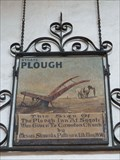Image for The Plough Inn pub sign - St Agnes' church - Cawston, Norfolk