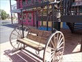Image for Longhorn Bench/Swing - Artistic Seat - Amarillo, Texas, USA.