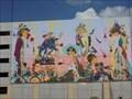 Image for Whimsical Mural on W. side Parking Garage - Oklahoma City, OK