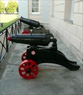 Image for Pair of cannon at Greenwich