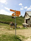 Image for Direction and Distance Arrows - Riffelberg, Switzerland