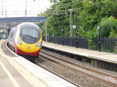 West Coast Line - Wolverton, Bucks, UK.