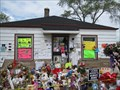 Image for Michael Jackson Cousin Greets Fans at Boyhood Home - Gary, IN
