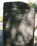 Image for Persian Gulf War - Dallam/Hartley Veterans Memorial - Dalhart, TX