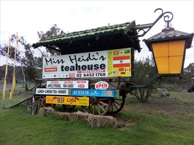 The advertising, for the Teahouse at the Lookout. 1858, Sunday, 30 December, 2018