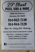 Image for 29th Street Pizza, Subs, and More - Altoona, Pennsylvania