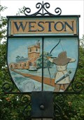 Image for Village Sign, Weston, Herts, UK