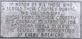 Image for Vietnam War Memorial, Ballard County Courthouse, Wickliffe, KY, USA