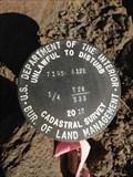 Image for T15S R12E S28 33 1/4 COR -- Deschutes County, OR