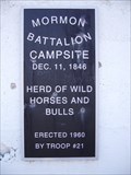 Image for Mormon Battalion Campsite