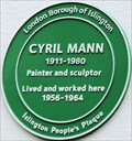 Image for Cyril Mann - Bevin Way, London, UK