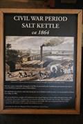 Image for Civil War Period Salt Kettle -- Iron & Steel Museum of AL, Tannehill Ironworks State Park, McCalla AL
